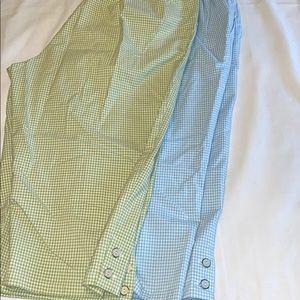 2 pair ALFRED DUNNER 16  CAPRI PANTS